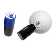 CROWN Blue - ASBRI GOLF BALL STAMPER, GOLF BALL MARKER - GOLF GIFT OR PRIZE