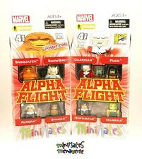 Marvel Minimates Alpha Flight # 1 and # 2 Box Sets