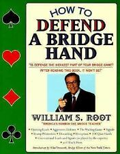 How To Defend A Bridge Hand, Root, William S., Good Book