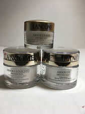 Lancome Absolue Premium Bx Replenishing and Rejuvenating  Day+Night+Eye Cream