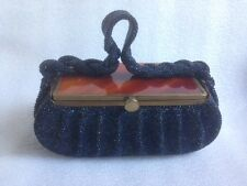 RARE ANTIQUE EXCLUSIVE BAKELITE BEADED PURSE