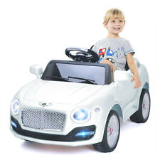 6V Kids Ride On Car Electric Battery Power RC Remote Control & Doors MP3 White