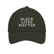 Black Lives Matter Style 2 Embroidered SOFT UNSTRUCTURED Hat Baseball Cap