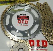 YAMAHA FZ-6 FAZER S2 DID X-Ring GOLD 520 CHAIN AND SPROCKETS KIT *OEM,QA or Fwy