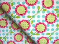FQ Paty Young / Michael Miller retro Andalucia Flower mod blooms cotton fabric