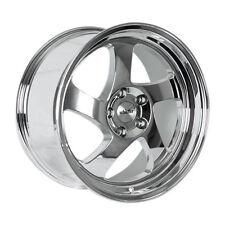 17x9 +25 Whistler KR1 5x100 Chrome Wheel Fit Vw Golf Celica Corolla Brz Baja