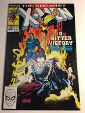 Marvel Comics Uncanny X-Men #255 Comic Book Mystique Banshee Cover 1989
