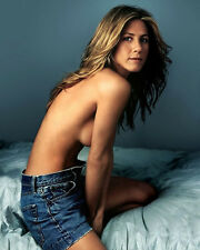 "Jennifer Aniston~Color~Shorts~Photo~Poster~ 16"" x  20"""