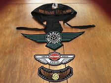 Harley Davidson 3 Patches & Skull Cap,1903-2003 100 Yrs, Owners Group 25 Yrs,USA