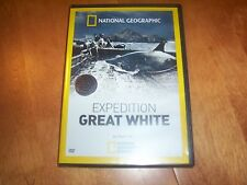 EXPEDITION GREAT WHITE Sharks Shark Capture Whites National Geographic DVD NEW