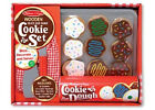 Melissa and Doug Slice And Bake Cookie Set NEW topping wooden knife spatula mitt
