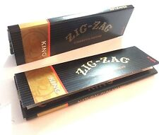 6 Pack Zig Zag King Size Cigarette Rolling Papers New!