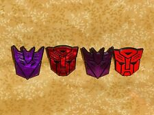 TransFormers Shield,Cupcake Ring,Plastic,DecoPac,Multi-Color,Prime,Decepticon