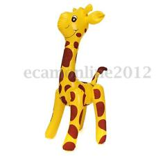 Large 60cm Inflatable Giraffe Zoo Animal Blow Up Kids Toy Pool Party Decor Gift