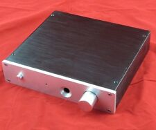 2204E headphone chassis full Aluminum Preamplifier enclosure AMP BOX PSU CASE
