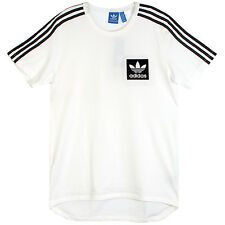 Adidas Street Essentials Tee Mens AJ8068 White Cotton Crewneck T-Shirt Size XL