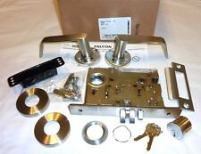 Falcon MA441L DG 630 Mortise Security Classroom Lock Dane Gala w/ Cyl STAINLESS
