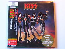 "KISS ""Destroyer"" Japan mini LP  SHM CD"