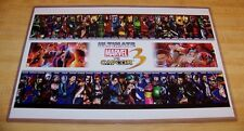 Ultimate Marvel Vs. Capcom 3 Fate of Two Worlds 11X17 Poster