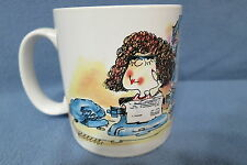 Vtg Russ Berrie Secretary Coffee Tea Mug Knows Where Everything Is Except Boss