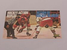 Letraset Action Transfers-Hockey su ghiaccio Action Replay-mai usate Philly V MINN