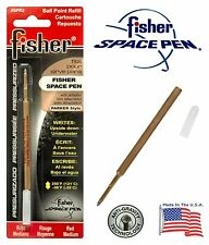 One (1) Fisher Space Pen SPR Series Red Ink / Medium Point Refill #SPR2