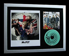 McFLY+SIGNED+FRAMED+WONDERLAND+OBVIOUSLY+STAR GIRL=100% GENUINE+FAST GLOBAL SHIP