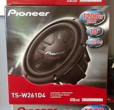 "Pioneer TSW261D4 1200W 10"" Champion Series Dual 4 ohm Car Subwoofer Brand New"