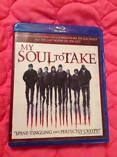 MY SOUL TO TAKE BLU-RAY + DVD 2010 SUPERNATURAL HORROR FILM MAX THERIOT