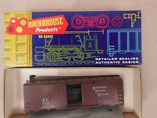 HO SCALE ROUNDHOUSE CANADIAN PACIFIC 40' BOX CAR KIT
