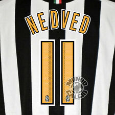 NEDVED CUSTOMIZATION JUVENTUS HOME NOME E NUMMER KIT SET NAME 05-06