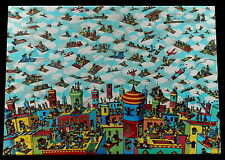 "1991 Children's Jigsaw Puzzle WHERE'S WALDO? ""THE CARPET FLYERS""   NEW in Box"