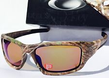NEW* Oakley VALVE Woodland POLARIZED Angler Shallow Blue Lens 9238-13 CAMO HUNT