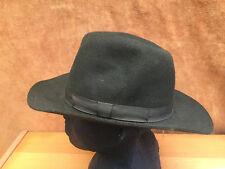 Olney Large Olive Crushable Fur Felt Hat