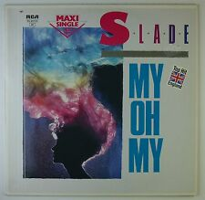 "12"" Maxi - Slade - My Oh My - k5581 - washed & cleaned"
