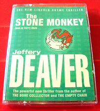 Jeffery Deaver The Stone Monkey Lincoln Rhyme 2-Tape Audio Book Kerry Shale