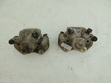 04 BOMBARDIER CAN AM OUTLANDER 400 FRONT BRAKE CALIPERS LEFT RIGHT USED PADS B