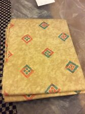 Brand New Ready Made Curtains  66 X 72 Beige With Diamonds