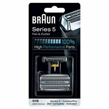 Braun Series 5 51S REPLACEMENT FOIL & CUTTER SHAVER HEAD ContourPro 360 Complete