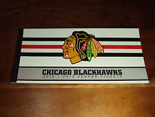 2012-13 Chicago Blackhawks FULL Season Ticket Book 2013 Champs NHL Record 21-0-3