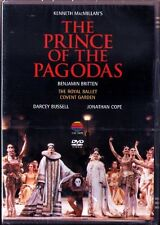 DVD BRITTEN The Prince of the Pagodas ROYAL BALLET 1990 Darcey Bussell Chadwick