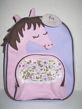 NEW Pottery Barn Kids PRE SCHOOL LAVENDER HORSE Backpack   LAST ONE!