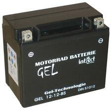 BATTERIA Moto Gel ytx12-bs Adly/Herchee Canyon 280, BJ 2007-2009