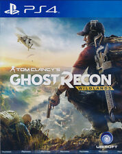 Tom Clancy's Ghost Recon Wildlands (English/Chinese) PS4 Game Brand New Sealed