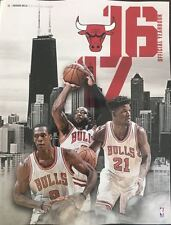 2016 2017 CHICAGO BULLS YEARBOOK PROGRAM BASKETBALL NBA FINAL CHAMP JORDAN WADE