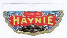 Flor De Haynie, original outer cigar box label