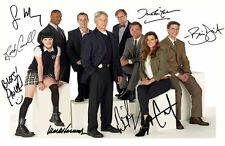 NCIS AUTOGRAPHED SIGNED A4 PP POSTER PHOTO 1