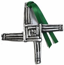 Silver Claddagh St. Brigids Cross Decoration 3'' (CC03-S) - Buy One Get One Free