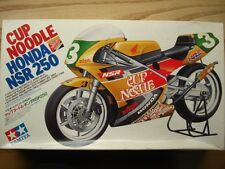 "Tamiya 1:12 Scale ""Cup Noodle"" Honda NSR 250 1992 Vintage Model Kit New N.Aoki"
