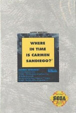 ## SEGA GENESIS - Where in Time is Carmen Sandiego - TOP / Mega Drive Spiel ##